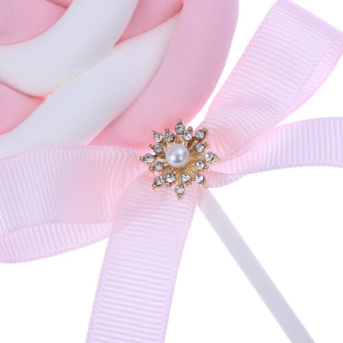 10Pcs Snowflake Crystal Rhinestone DIY Embellishments Flatback Buttons Decor ~