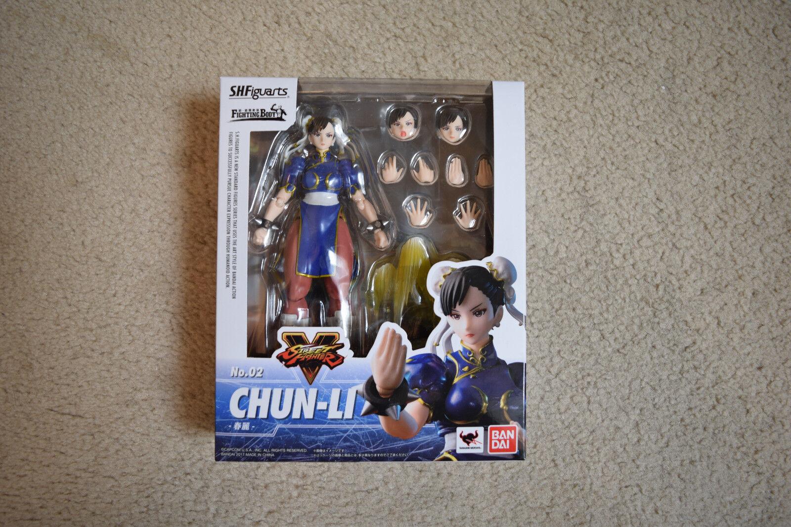 Street Fighter Chun Li - SH Figuarts