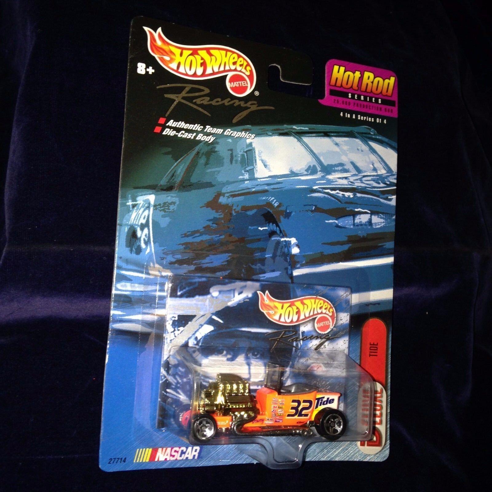 New Sealed 1999 Mattel Hot Wheels Racing Hot Rod Series Tide Nascar