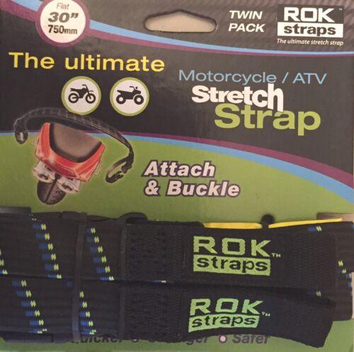 ROK Straps Motorcycle Tie Down Luggage Straps 2 pack 30 inch x 3//4 inch BMW KTM