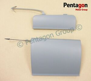 New. Genuine Seat Leon K1 Pair of Offside Side Skirt Jacking Point Covers