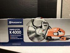 Husqvarna Power Cutter K 4000 14 Electric Cut Off Saw New In Box