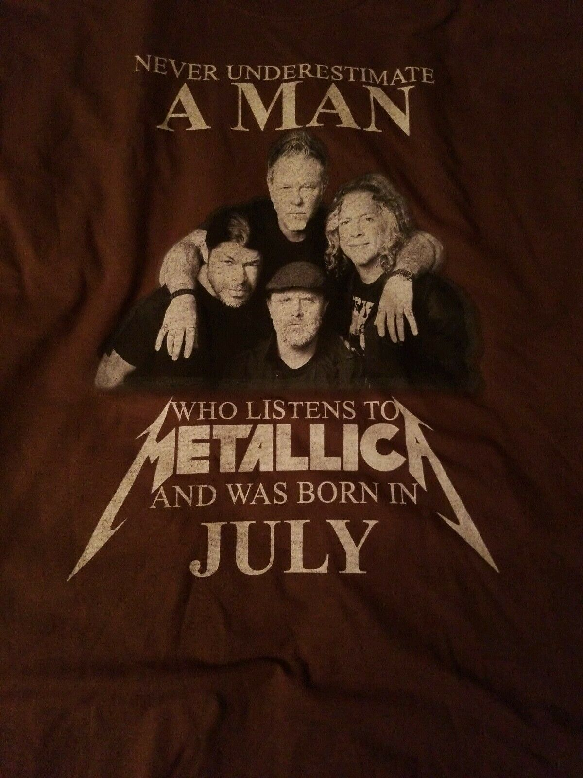 Never Underestimate MAN Who Listens to Metallica … - image 9