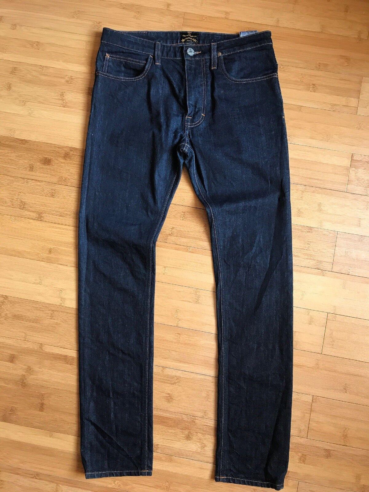 NUOVO senza etichetta VIVIENNE WESTWOOD ANGLOMANIA Uomo  Rock n'roll  Jeans   Blu Taglia 30 L31