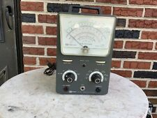 Vintage Daystrom Heathkit Model Im 10 Vacuum Tube Voltmeter