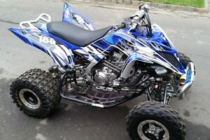 Yamaha Raptor 700 700R graphics 2013 2014 2015 2016 2017 custom kit ...
