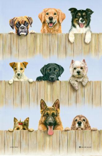 Amusant Cadeau Idéal Pour Chien Amoureux Dog Themed Thé Serviette Plat Tissu-Amusant