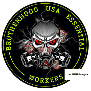 50-pack-Essential-Worker-Round-Oval-Sticker-Decal-BrotherHood-Essential-Workers