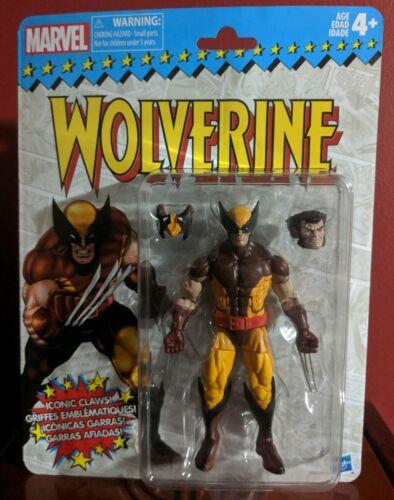 """Marvel Legends vintage Wolverine Retro 6/"""" Figure 2017 Classic X-Men"""