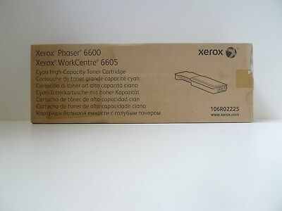 Xerox 106R02225 Xerox Phaser 6600//WorkCentre 6605 High Capacity Cyan Toner Cart