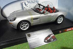 Bmw Z8 Cabriolet Gris Échelle 1/18 Hot Wheels 29614 Voiture Miniature Collection