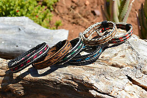 100-Braided-Horsehair-Bracelet-5-Strand-Various-Colors-Great-Gift