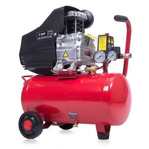 24L Druckluftkompressor Kolben Kompressor Luftdruckkompressor 2PS  8 bar