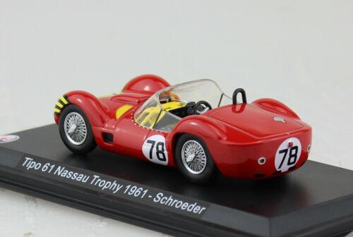 Maserati Tipo 61 #78 1961 1:43 Modellauto