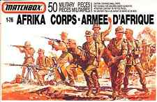 Matchbox #P-5004 1/76 WWII Afrika Korps - Armee D'Afrique - mint in sealed box