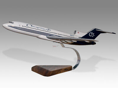 Boeing 727-200 Champion Air Solid Dried Mahogany Wood Handmade Desktop Model Airlines Collectables