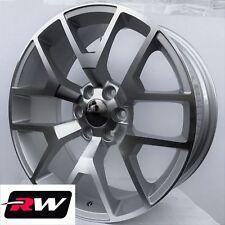 24 Inch Cadillac Escalade Replica Honeycomb Wheels Machined Silver Rims