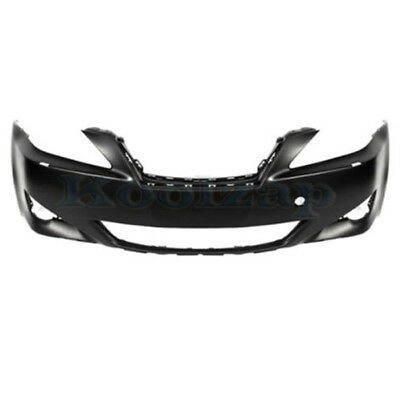 Front /& Rear Bumper Cover Set For 2006-2008 Lexus IS250 w// Headlight Washer Hole