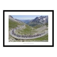 The Galibier Pass - Tour de France Cycling Photo Memorabilia (627)