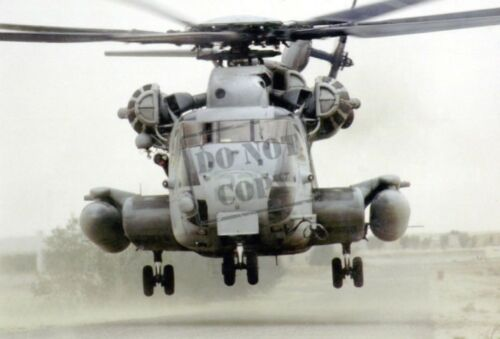 "US Marine Corps USMC  /""Big Dog 23/"" a USMC CH-53 Super Stallion helicopter PHOTO"