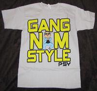 Large Mens Graphic T-shirt Psy K Pop Korean Gangnam Style Dance Rap Music Tee