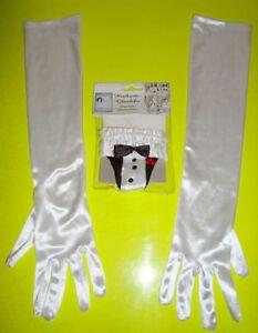S Hochzeit Deko Für Glas Party Feier Fest Event 'just White' Vertrieb Von QualitäTssicherung WunderschöNen Handschuhe Gr