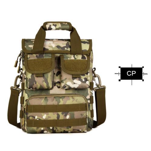 Mens Tactical Shoulder Messenger Bags Molle Multifunctional Tote Hiking Handbag