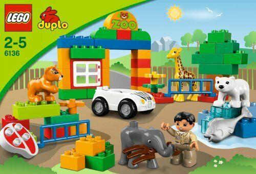 LEGO DUPLO  IL MIO MIO MIO PRIMO ZOO  2 - 5 ANNI   FUORI PRODUZIONE  ART 6136 622eb8