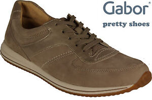 Shoes Replacement Nuovo Gabor Boot Shoes Lace Beige Sneakers Up Leather Twxdv0H