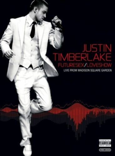 1 of 1 -  JUSTIN TIMBERLAKE - FUTURESEX / LOVESHOW..MADISON SQUARE GARDEN..NEW