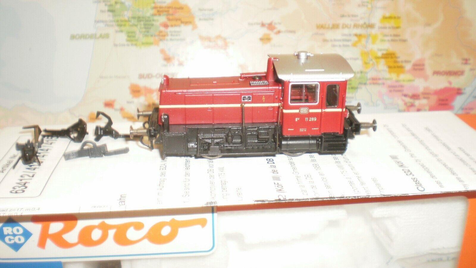 spedizione e scambi gratuiti. Loco diesel diesel diesel de uomooeuvres Kof 3 DB Roco HO  varie dimensioni
