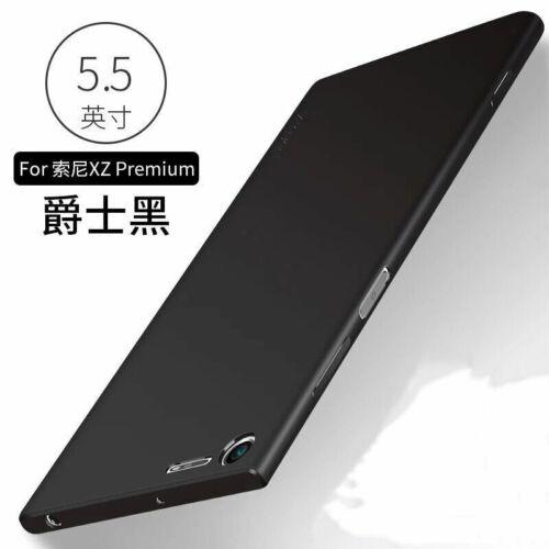 Escarchado Mate De Goma Suave Ultrafina Funda Cubierta Trasera para Sony Xperia Xz XA2 XZ3