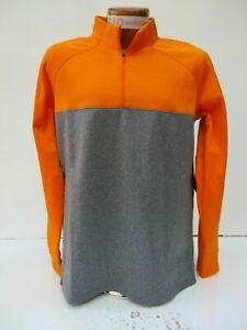 b1f8e8a6c Nike Golf Therma Half Zip Top Men's Orange Grey 854498 873 Size XL ...