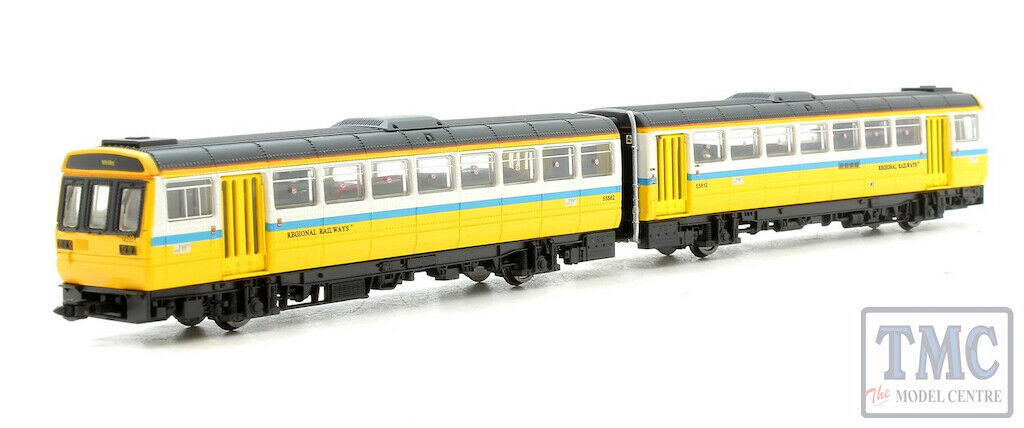 ND116E Dapol N Gauge Class 142 142021 Tyne & Wear PTE