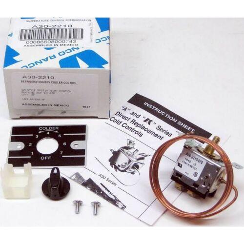 RANCO A30-2210 contrôle de température pour réfrigérateur et boissons refroidisseurs