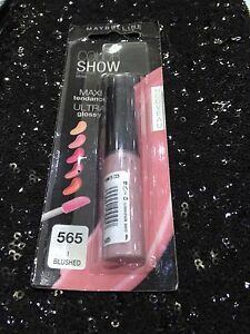 GEMEY MAYBELLINE COLORSHOW GLOSS MAXI TENDANCE GLOSSY 565 BLUSHED