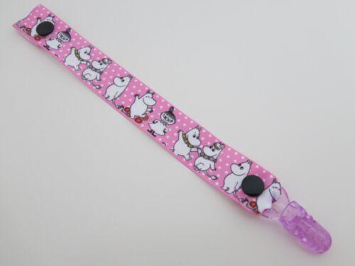 Filles Garçons gros-grain Ribbon Dummy sucette clips Beaucoup Designs à Choisir