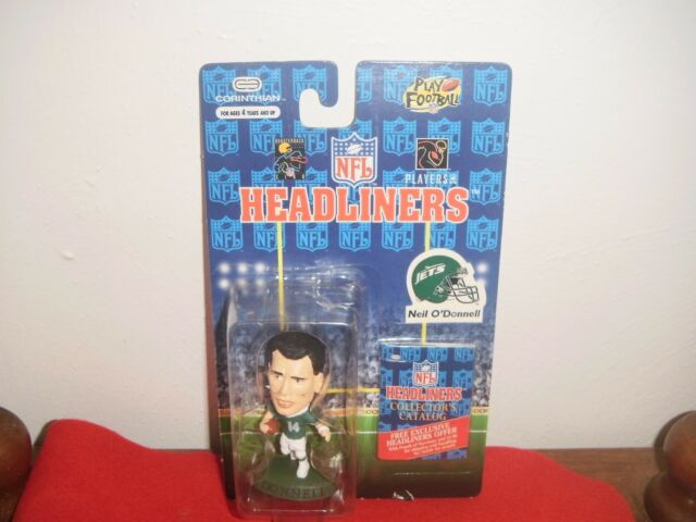 "1996 Mini Headliners Neil O'Donnell  3"" Figure NIP New York Jets"