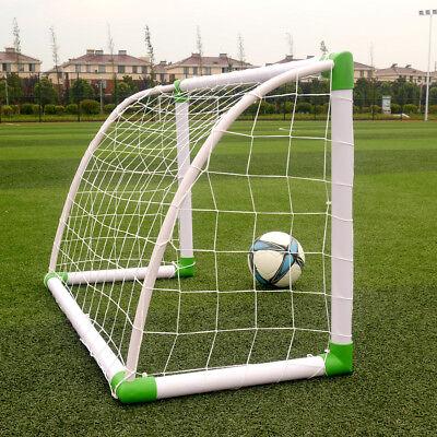 "Portable Mini Kids Soccer Goal for Backyard 47""x31 ..."