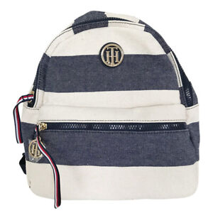 Tommy-Hilfiger-Rugby-Small-Dome-Backpack-NEW-OSFA-BLUE