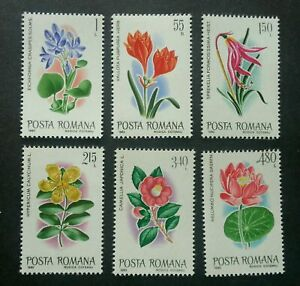 SJ-Romania-Flowers-1980-Flora-Plant-stamp-MNH-see-scan