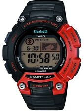 Casio Sports Gear Bluetooth v4.0 Mobile Link LAP 120 Gents Watch STB-1000-4EF