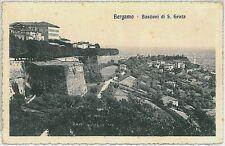 CARTOLINA d'Epoca  BERGAMO  citta'  - S. GRATA