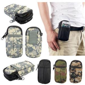 Men-039-s-Outdoor-Travel-Tactical-Camping-Waist-Bags-Pouch-Belt-Military-Soft-Bag