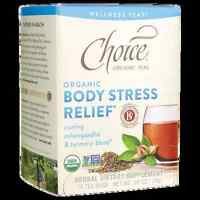 Choice Organic Teas Organic Body Stress Relief Wellness Tea 16 Bag(s)