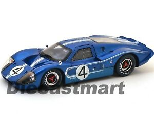 SC426 1967 FORD GT MK IV BLUE #4 LEMANS L.RUBY/D.HULME 1:18 SHELBY COLLECTIBLES