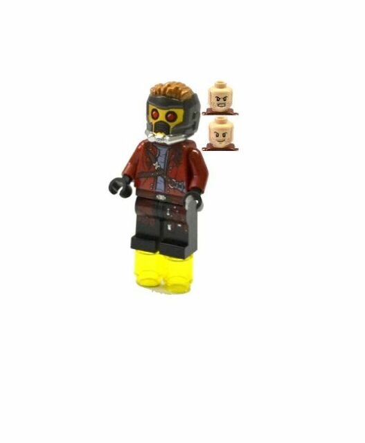 LEGO SUPER HEROES MARVEL GUARDIANS OF THE GALAXY MINIFIGURE STAR LORD 76019
