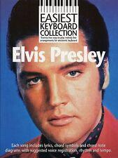 Easiest Keyboard Collection Elvis Presley Learn to Play EASY Music Book BEGINNER