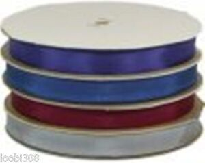 14MM-RAYON-VINTAGE-RIBBON-5-METRES-23-COLOURS-Like-Seam-Binding