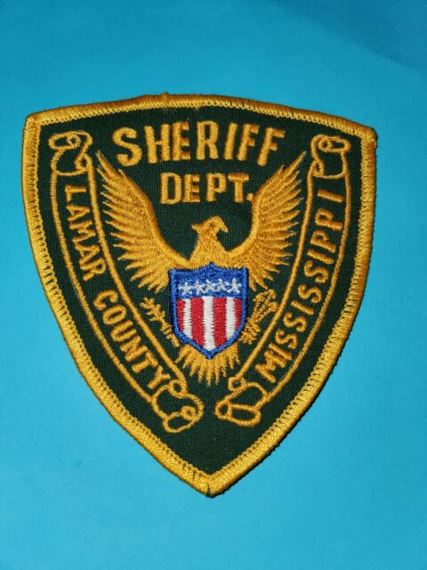 Lamar County Sheriff Dept Patch | eBay